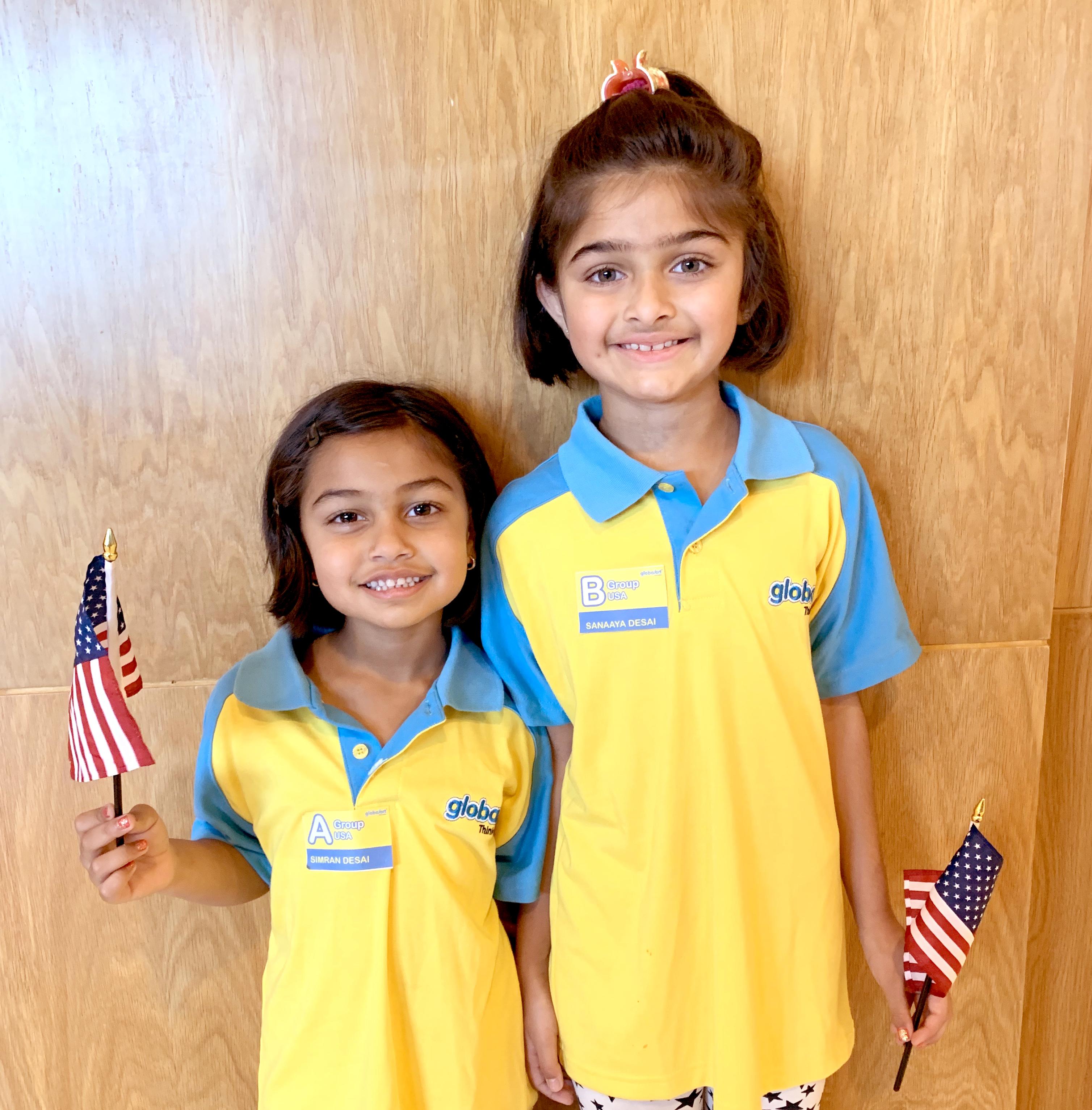 Sanaaya & Simran Desai