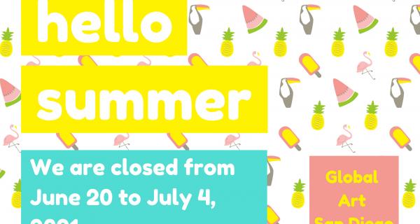 Summer Closure Announcement
